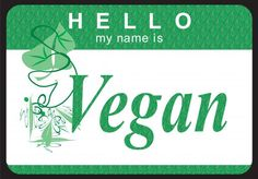 Hello my name is Vegan 😂 Vegetarian Humor, Vegan Humor, Vegan Vegetarian, Nice To Meat You, Animal Agriculture, Vegan Quotes, Life Is Precious, Hello My Name Is, Vegan Animals