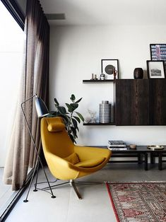 If we could move right into anywhere right now, then we'd pick this beautiful mid-century home as featured on My Scandinavian Home. Shop now at Nest.co.uk: http://www.nest.co.uk/product/gubi-gr%C3%A4shoppa-floor-lamp