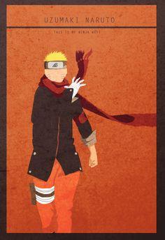 Uzumaki Naruto - Minimalist Wallpaper by lubans on DeviantArt