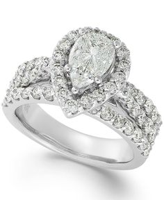 Diamond Engagement Ring in 14k White Gold (2-3/8 ct. t.w.)