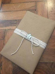 Book gift wrap