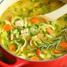 http://damndelicious.net/2016/01/13/chicken-zoodle-soup/