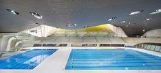 London Aquatic Center by Zaha Hadid Architects