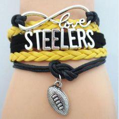 Bracelet {Football} Vikings, Steelers, Cardinals and more!