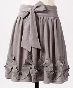 Take a look at this Gray Street Swirls Skirt by DownEast Basics on #zulily today!