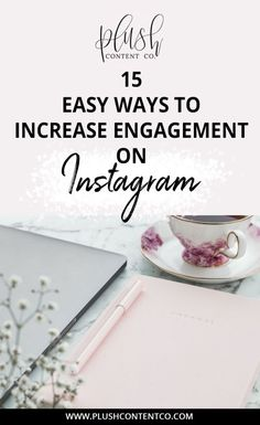 Want to know how you can increase engagement on Instagram babe? There are actually SO many ways you can do this!  Click through to read 15 easy ways you can increase engagement on Instagram now!  #instagram #socialmedia #bossbabe #girlboss
