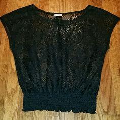 Black Cute top. Black top short sleeves. Tops Muscle Tees