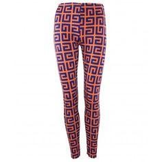 Neon Orange And Blue Printed Leggings http://www.trendzystreet.com/clothing/buy-bottoms-online/leggings-jeggings/neon-orange-and-blue-printed-leggings-tzs5610