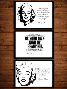 Hey, I found this really awesome Etsy listing at http://www.etsy.com/listing/130238330/3-black-watercolor-marilyn-monroe-hot