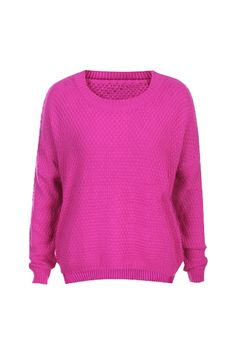Pretty In Pink Knitted Sweater