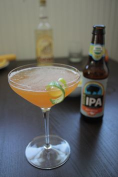 Apricot Margarita Made with Beer