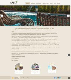 Web Tasarım | Alaçatı Kapari Otel