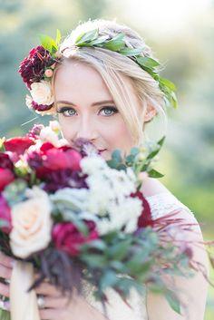 Photo by Developing Bliss Photography, Florals by Dahlia Floral Design, Gown by Eden Bridals, HMUA by Jessica Nelson #utahvalleybride #utahwedding #utahbridals#utahbridalphotos