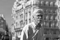 Jean-Philippe Jouve   Black and White   Street Photography   Paris   Man