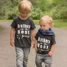 Image of Brothers make the Best Friends t-shirt