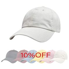 $7.99 White ZOWYA Classic Cotton Plain Baseball Cap-Dad Hat-Polo Cap-Casual Cap-Unisex-Adjustable Size-Unstructured-Soft Honeymoon Packing, Packing For A Cruise, Plain Baseball Caps, Baseball Hats, Canvas Hat, Sports Caps, Dinner Outfits, Dad Hats, Mens Caps
