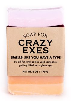 Soap for Crazy Exes – Whiskey River Soap Co. Whiskey River Soap, Best Bar Soap, Soap Labels, Candle Labels, Funny Candles, Vegan Soap, Soap Company, Cool Bars, The Ranch