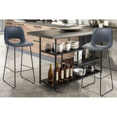 LEONEL design bárszék - szürke Bar Chairs, Chair Design, Modern, Table, Furniture, Home Decor, Bar Stool Chairs, Trendy Tree, Decoration Home