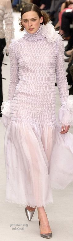 Chanel ~ Couture Spring Pink Maxi 2004