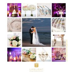 Limelight Photography, Wedding Photography Inspiration board, Carlouel Yacht Club, Couple on the beach, Purple, Silver http://www.stepintothelimelight.com
