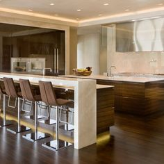 Waterfall Counters Design, Pictures, Remodel, Decor and Ideas - page 21