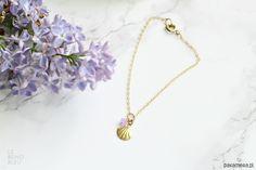 bransoletki - inne-Tiny Shell Bracelet