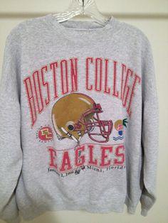 Vintage Boston College Sweatshirt by 21Vintage on Etsy, $26.50
