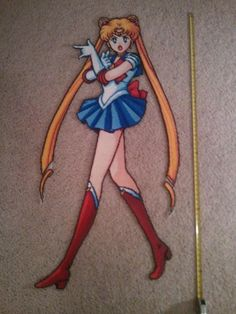 Perler Bead Sailor Moon!