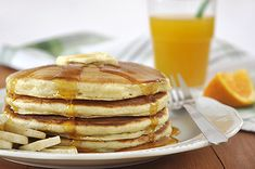 Breakfast Recipes, Dessert Recipes, Desserts, Yogurt Pancakes, Delish, Food And Drink, Sweets, Healthy Recipes, Cooking