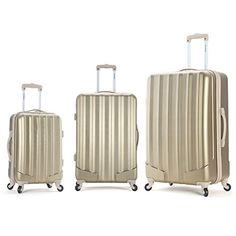 Rockland Luggage 3 Piece Metallic Upright Set, Bronze, Medium Rockland http://www.amazon.com/dp/B008LR9R3K/ref=cm_sw_r_pi_dp_hZKfub0NWBC6C