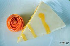 Orange yogurt cake #lowfatcake #healthydesserts - recipes with olive oil - gusto per amore