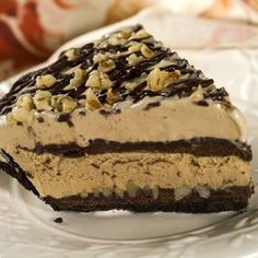 Mississippi Mud Pie made with coffee ice cream...had this at a shower yesterday and almost died from the deliciousness!!