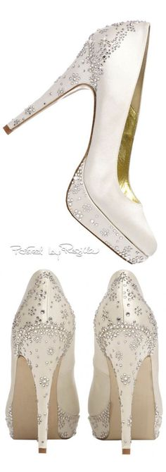 Women's Fashion High Heels : Regilla ⚜ Freya Rose Bling Wedding Shoes, Bling Shoes, Bridal Shoes, Wedding Jewelry, Dream Shoes, Crazy Shoes, Shoe Boots, Shoes Heels, Pumps