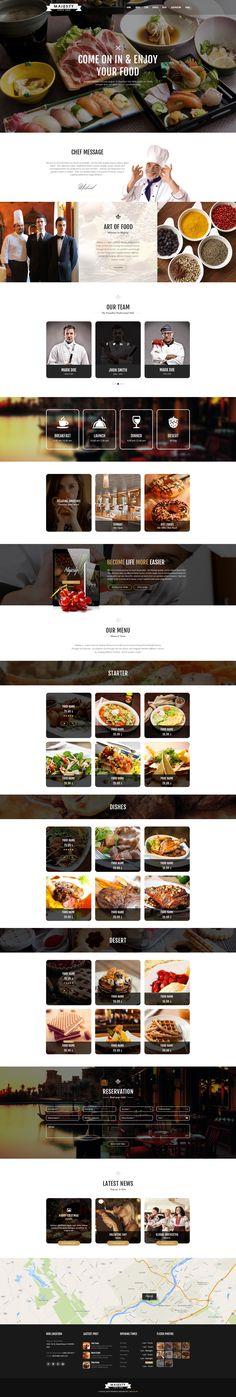 Majesty is a modern and simple template made specially for different restaurants, cafe, bakery, sushi, bistro & cake shops. It has included a variety of home layout and a boxed and a wide version. It is built upon bootstrap 1170px grid, and it has retina …