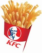 KFC Chip Seasoning 1 Tbl Onion Salt 1 Tbl Salt 1/4 tsp Garlic powder Dash of Pepper 1/4 tsp sugar Mix the above ingredients and place in a salt shaker with some uncooked grains of rice (to keep from caking). Lightly sprinkle on cooked chips.