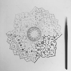 #tezhip #tezhib #illustration #traditionalart #drawing #sketch #blackandwhite  #zlemania✍