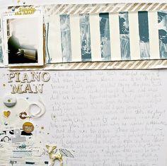 1 photo + scraps + journaling