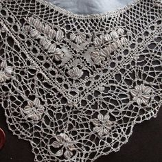 Traditional Honey Silk Handmade Maltese Bobbin Lace Handkerchief Vintage | eBay