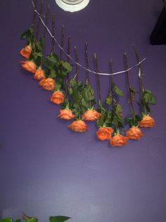 Dry your flowers :) Hang to dry for ten days until no moisture, use high shine hairspray after totally dry. :)