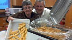 Al Mathiasen's klub (Norwegian potato dumplings) have been a big hit at Milbank fundraisers for years.