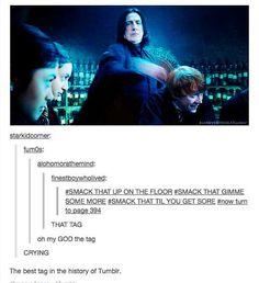 Harry Potter ~ Snape smacking that Harry Potter Texts, Harry Potter Fandom, Sassy Harry Potter, Harry Potter Tumblr Posts, Geeks, Severus Rogue, Severus Snape, Snape Harry, Draco Malfoy