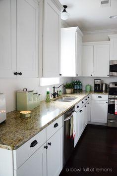 Home Organization 101 The Kitchen- A Bowl Full of Lemons