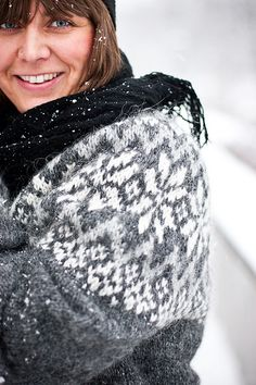 Ravelry: Snjóflyksa pattern by Linnea Ornstein #knit #pattern