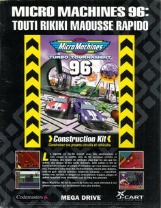 Micro Machines 96 for Mega Drive (France, Codemasters, October 1995)