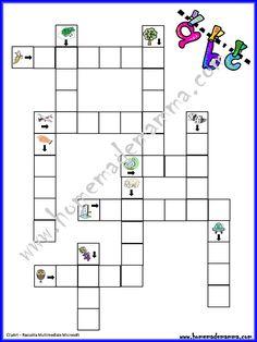 Giocare con le parole cruciverba illustrati per bambini for Cruciverba natalizio da stampare