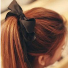 Have fun with your updo with this fashion forward European trend. Bow Shop, Fashion Accessories, Hair Accessories, Business Hairstyles, Unique Outfits, Pretty Hairstyles, Updos, Hair Bows, Black Hair