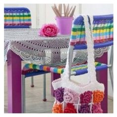 Crochet   pin now, look later.
