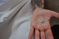 Smart! Chef Carolynn Spence at Chateau Marmont tsp & Tbl measurement tattoo