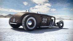 Ford roadster edelbrock special highboy 1932 at the for Garage ford bonneville