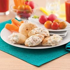 Mini-pitas à la salade de thon et pomme verte - Recettes - Cuisine et nutrition - Pratico Pratique